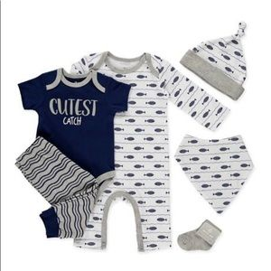 Brand New baby boy 6PC Set